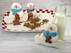 SUPER cute cookies - makes me want to try to make them...