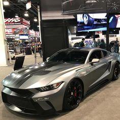 Ford Mustang by Cars Bugatti, Lamborghini, Ferrari, Ford Mustangs, Mustang Cars, Restomod Mustang, Mustang 2018, Automobile, Pony Car