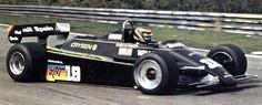 1982 Emilio de Villota GP de Bélgica en Zolderl con March-Ford 821