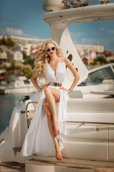 Me one day. I have the white outfit with the gold belt already. Just need the charter yacht ;)
