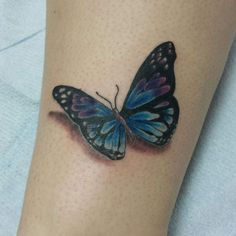 Butterfly tattoo by Paco Garcia