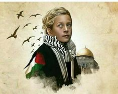 Free Ahed Tamimi and all Palestinian prisoners. Palestine Flag, Palestine History, A Level Art Sketchbook, Islamic Cartoon, Cross Paintings, Love Images, Oppression, Jerusalem, Islamic Art