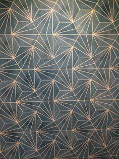 Claesson Koivisto Rune Dandelion tiles for Marrakech Design – interestingly they remind me of traditional Japanese patterns.:: Dandelion - azure/milk - Collection 2012 - Marrakech Design is ::dandelion tiles green - no piso do corredorGold and blue Wall Paint Patterns, Painting Patterns, Tile Painting, Textures Patterns, Print Patterns, Pattern Ideas, Floor Patterns, Motif Art Deco, Art Deco Tiles