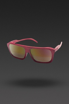 Proof Sunglasses. Bud in Red/Fire Lens