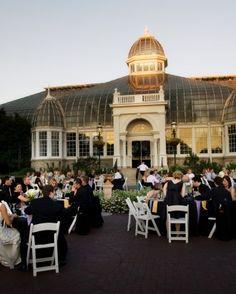 FOR THE RECEPTION || Franklin Park Conservatory and Botanical Gardens for an outdoor garden party || NOVELA...where the modern romantics play & plan the most stylish weddings ... (instagram: @novelabride) www.novelabride.com
