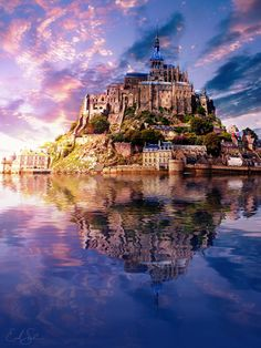 Photograph The Lonely Mountain by Erik Sanders on 500px     Mont St. Michel