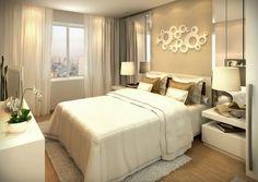 Dormitorio color tierra
