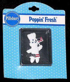 Pillsbury Doughboy Refrigerator Magnet Collection
