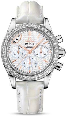 Omega De Ville Co-Axial Chronograph Replica Watch 422.18.35.50.05.001