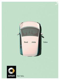 BRONZE - CAMPAIGN AWARD - CANNES LIONS  Smart For Two Yoko SMART JUNG von MATT 2015  PRESS  PRODUCT & SERVICE  CARS Entered by: JUNG von MATT
