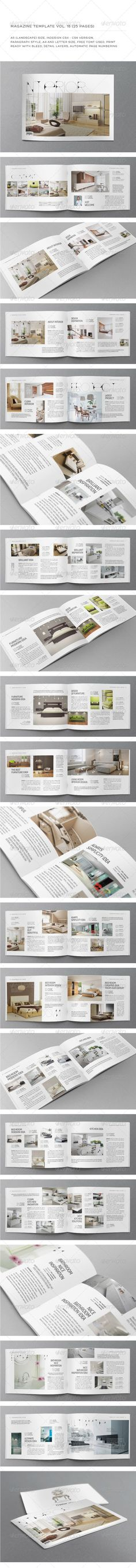 Indesign template vol 16 You can download this template here : http://graphicriver.net/item/a5-landscape-25-pages-mgz-vol-16/5319305?WT.oss_phrase=&WT.oss_rank=39&WT.z_author=Shafura&WT.ac=search_thumb
