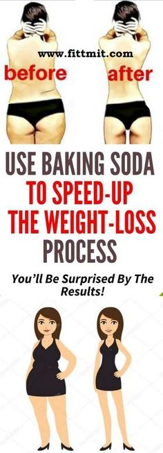 Speed Up Weight Loss Process By Baking Soda, You Will Surprised By The Results.