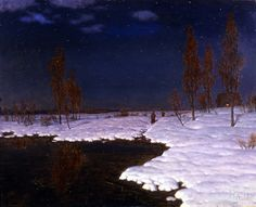 Ivan Choultse, March Nights in Russia