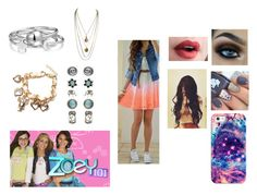 """Zoey 101"" by ocean-goddess ❤ liked on Polyvore featuring Casetify, Bling Jewelry and Accessorize"