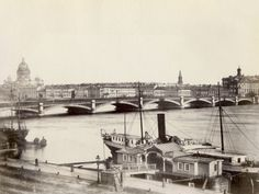 Russia, View of St. Petersburg and the Neva River Photographie