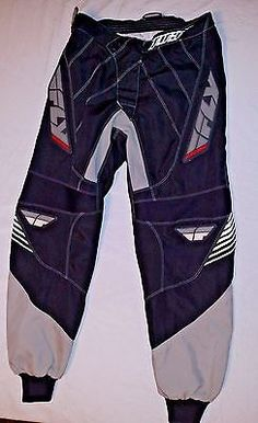 FLY RACING Dirt Bike Mens 303 PANTS Size 30 Race MX MOTOCROSS GEAR X Games RIDE