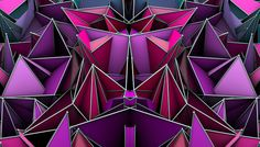Poly-Gons #1 by Matteo Gallinelli, via Behance