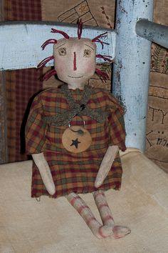 Primitive rag doll