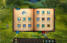 This is a spellbook for a big homm-like mmo rpg.