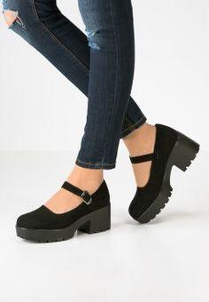 Topshop - FLIPPER - Zapatos de plataforma - black                                                                                                                                                                                 Más