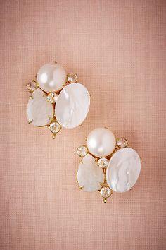 Moonbeam Cluster Earrings