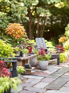 Backyards are meant to be enjoyed. Use these brilliant patio landscaping ideas to DIY an outdoor oasis in your yard. Even if your outdoor space is small, you'll get inspired by these ways to enhance your landscape with a patio or porch.
