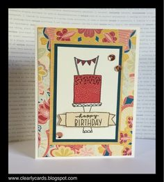 Clearly Cards: May Stamp of the Month Blog Hop