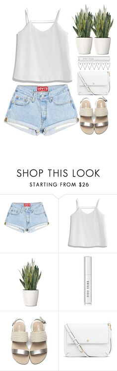 """""""summer's soon.."""" by grodell ❤ liked on Polyvore featuring Chicwish, PLANT, Bobbi Brown Cosmetics and Tory Burch"""