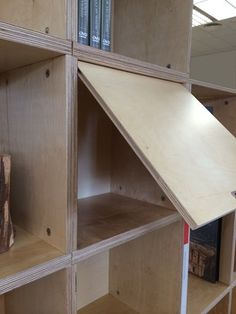 Fotos de FastenBox5 Plywood Shelves, Saw Wood, Bunk Beds, Grande, Furniture, Home Decor, Form Design, Modular Bookshelves, Pictures