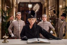 "Zoë Wanamaker as Princess Marie de Bolotoff in Mr Selfridge. ©ITV - As Mr Selfridge returned for a third series on Sunday, viewers were introduced to the ""bombshell"" Princess Marie, and actress Zoë Wanamaker says her character's one-liners could rival the Dowager Countess in Downton Abbey."