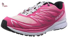 Salomon Sense Manatra 3, Damen Traillaufschuhe, Pink (Hot Pink/White/Black), 38 2/3 EU (5.5 Damen UK) - Chaussures salomon (*Partner-Link)