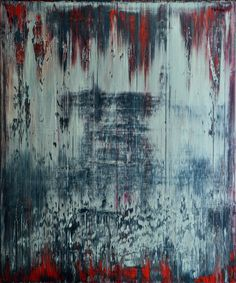 Abstract painting by Jakob Weissberg, 2012, oil on canvas, 120x100cm
