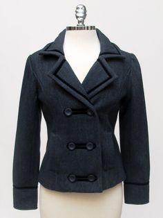 Azura Boutique - Le Phare De La Baleine Blue Short Jacket, $304.00 (http://www.shopazura.com/le-phare-de-la-baleine-blue-short-jacket/)