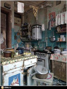 Communal kitchen / Назад в СССР