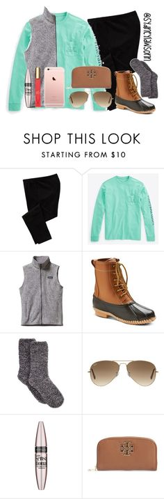 """POLY-Anna (read d)"" by hmcdaniel01 ❤ liked on Polyvore featuring Old Navy, Vineyard Vines, Patagonia, Merona, Charter Club, Ray-Ban, Maybelline, Tory Burch, Kate Spade and POLYanna"