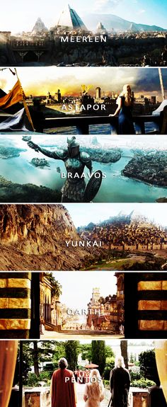The Cities of Essos