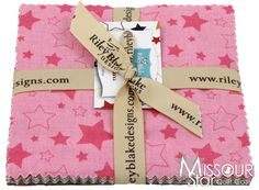 Cotton Stars Charm Pack from Missouri Star Quilt Co
