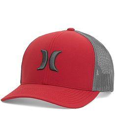 cd09ae9bcab Hurley Harbor Trucker Hat - Men s Hats in Valiant Red