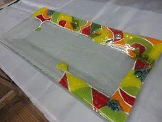 Oz Vitrofusion - Arte en vidrio - Biyouterie - Souvenirs - Art. Bazar: Centros de mesa Vitrofusionados