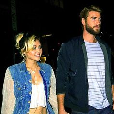 News: Smiley Miley! Miley Cyrus and Liam Hemsworth Hold Hands on Dinner Date in N.Y.C.