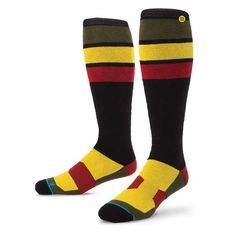 #FashionVault #stance #Men #Accessories - Check this : Stance Rasta Jam BLK S/M FUSION SNOW Socks for $ USD