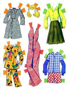 Paper Dolls~Quick Curl Barbie - Bonnie Jones - Álbumes web de Picasa