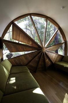 Unique Holiday House in Tube Form – Drew House - The Great Inspiration for Your Building Design - Home, Building, Furniture and Interior Design Ideas Interior Exterior, Interior Architecture, Installation Architecture, Organic Architecture, Exterior Doors, Construction Design, Construction Business, Construction Birthday, Home And Deco