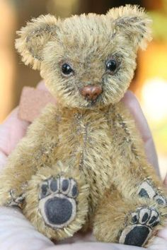 Mohair Bear by Kimbearly's Originals Vintage Teddy Bears, Cute Teddy Bears, Teddy Beer, Love Bears All Things, Teddy Bear Pictures, Beren, Charlie Bears, Bear Doll, Big Bear