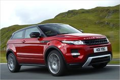 Range Rover Evoque, Burgundy. Still making up my mind about this one.
