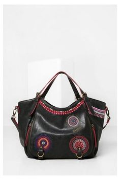 98fb8158c5 Sac à main Top · Sacs Desigual Sac Rotterdam Greta Balenciaga City Bag,  Mala, Wallets, Sacks, Feminine