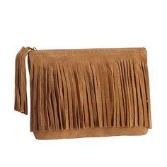 4107c7e2d0fe Junk Gypsy Wanderer Fringe Pouch | PBteen Pbteen, Leather Pouch, Toiletry  Bag, Zipper