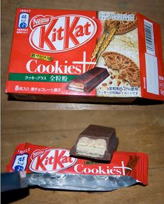 Cookies + wheat Kit Kat Japan (8 pack) | Flickr - Photo Sharing!