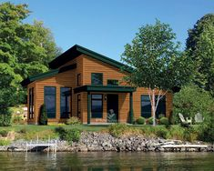 Small cabin building plans with kitchen cabinet colors and small cabin design with loft and two bedroom cabin floor plan also patio design and build - Amazing Home Design Cottage Style House Plans, Cabin House Plans, Cabin Floor Plans, Cottage Plan, Cottage Style Homes, New House Plans, Small House Plans, Unique House Plans, House Plans And More
