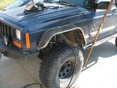 Homebrewed Fender Flares - NAXJA Forums -::- North American XJ Association Modificaciones Jeep Xj, Jeep Fenders, Jeep Xj Mods, Jeep Wrangler, Mitsubishi Suv, Jeep Scout, Jeep Grand Cherokee Laredo, Chevy S10, Ford Excursion